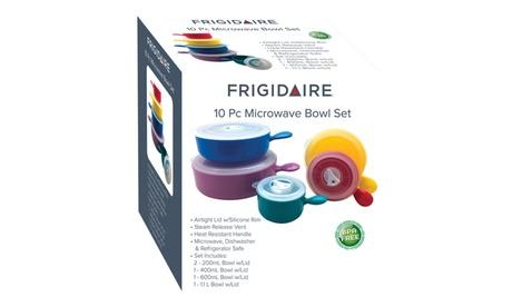 Frigidaire Microwave Bowl Set (10-Piece) photo