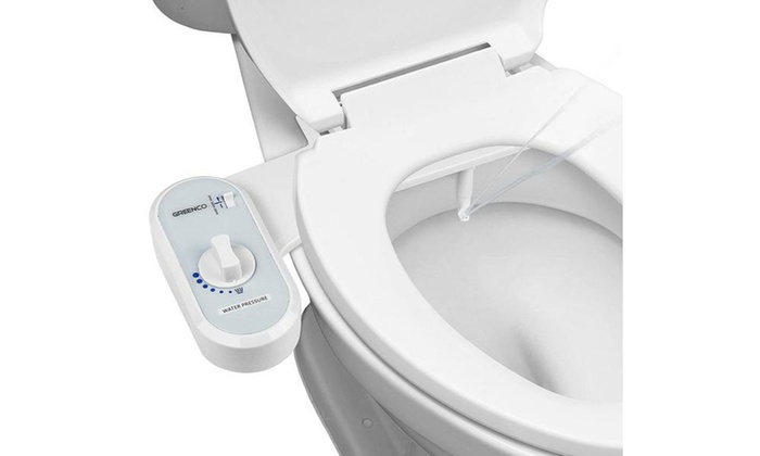 Greenco Mechanical Toilet Seat Attachment Groupon