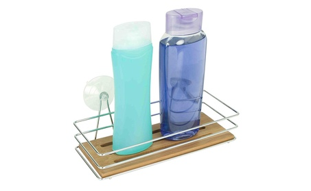 Bamboo Bath Caddy with Suction Cups 163b7ee8-695a-4525-a993-eef8a526eb63
