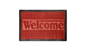 Lavish Home Indoor and Outdoor Non-Slip Welcome Mat