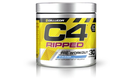 Cellucor 6550528 C4 Ripped Pre-workout Icy Dietary Supplement