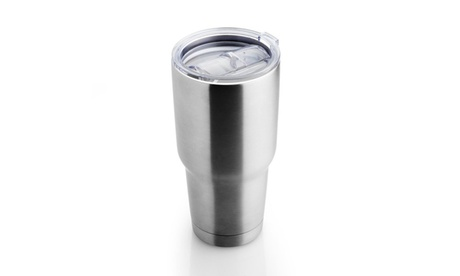 Grand Innovation 30 Oz Double Wall Insulated Stainless Steel Tumbler With Lid e2ec0d9e-f6f8-40eb-bc51-dbeefb0e7e4a