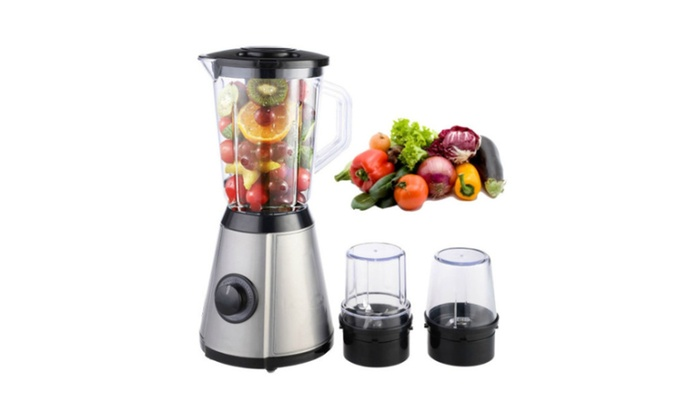 Pro 3in1 Electric Blender Mixer Chopper Grinder Food Fruit Processor ...