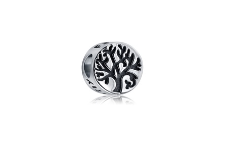 Bling Jewelry 925 Sterling Silver Round Family Tree Charm Fits Pandora 6e8646b8-89be-41a4-8102-cfb6f2f6ce75