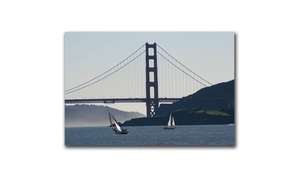 Groupon Goods: Golden Gate Sailing by Colleen Proppe 16x24