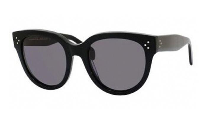 7d3a8f007f15 Celine 41755 S Sunglasses Black (3H smoke polarized lens)
