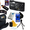 Nikon COOLPIX A300 20.1MP Digital Camera with 8x Zoom Lens plus More NEW