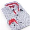 Elie Milano Italy Navy Pattern Men's Shirt Ebsh174M