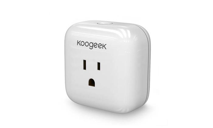 Koogeek Multifunction Home Smart Plug Wi-Fi Enabled with Apple HomeKit