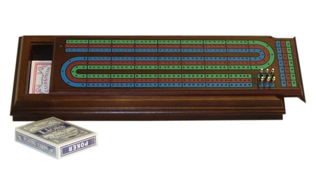 WWI 33559 3 Player Walnut Cribbage Box b5b593e9-5b84-44ab-8ab4-a9e2bbea3571