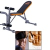 Home Foldable Adjustable Flat Incline Decline Dumbbell Weight Bench