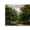 Pierre Renoir The Road near Cagnes Canvas Print