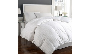 Hotel Grand Cotton Damask-Pattern Down Comforter