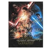 Star Wars The Force Awakens Autographed Poster
