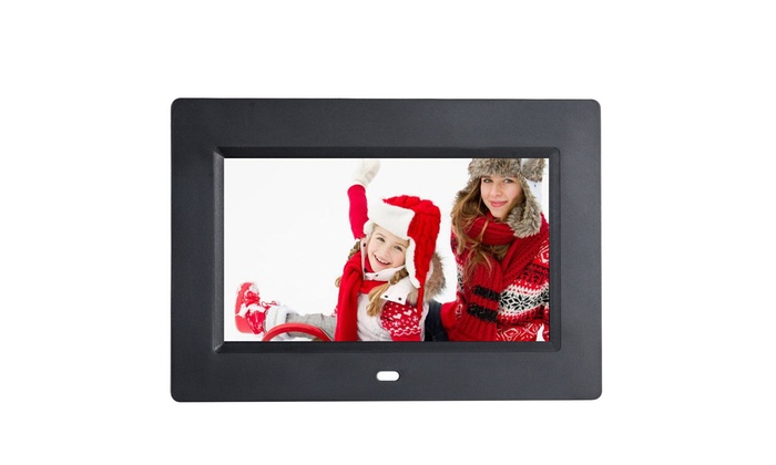 7 Ips Lcd Digital Photo Frame Calendar Clock Function Mp3 Photo