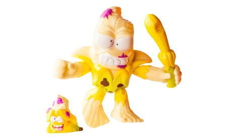 The Grossery Gang Season 3 Action Figurine: Squished Banana 16ba69ea-2bce-471f-ba02-6d51be756a6a