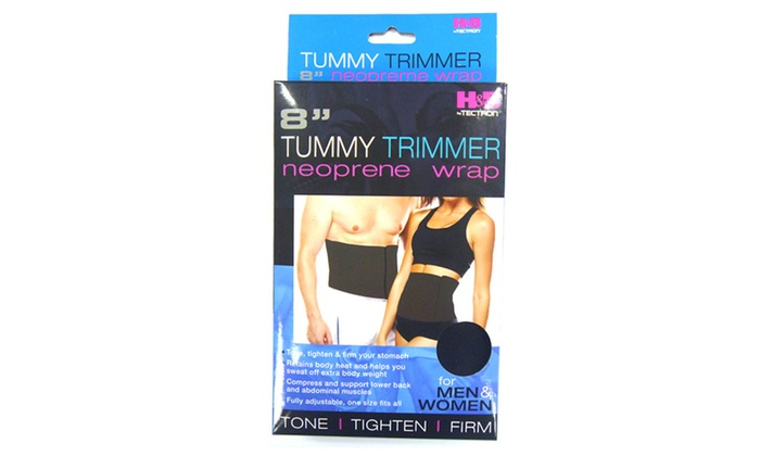 Buy It Now : Tummy Trimmer-Belly Fat Burner Belt and Waist Trimmer,8in