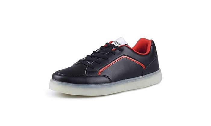 PU Leather Casual Men's Sneakers
