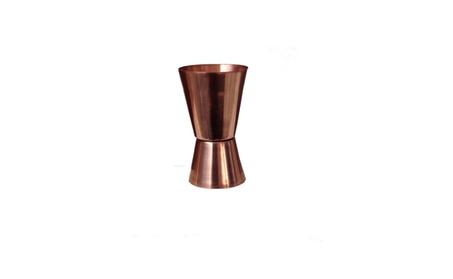 2 set Double Sided Copper Jigger Cocktail/Bar Jigger/Peg Measurer 198065ee-8418-4f12-98b3-c713be9989dc