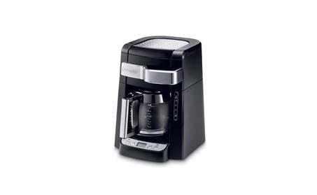 DeLonghi DCF2212T 12-Cup Glass Carafe Drip Coffee Maker, Black 6332778c-64b5-4da5-9b15-628feba26ad9