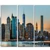 New York City Skyline - Photography Metal Wall Art
