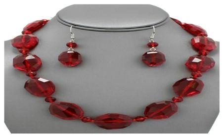 Glass Bead Necklace Set f503d87a-3843-4ddc-b2c9-d9bbbb74982e