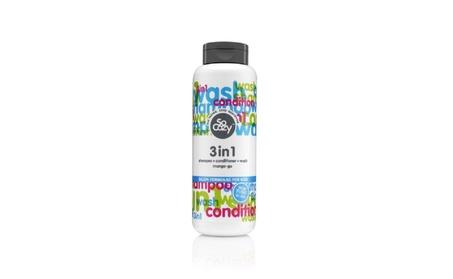 SOCOZY Cinch 3 In 1 Shampoo and Conditioner, 10.5 oz cf02bf00-08b2-4e25-9fb1-2993892f458b