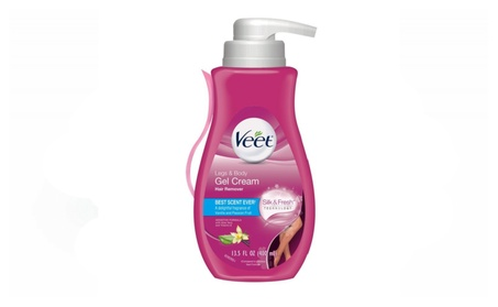 Veet Gel Hair Remover Cream, Sensitive Formula, 13.5 oz abddb6c1-8510-46dc-8797-1dd776c319c2