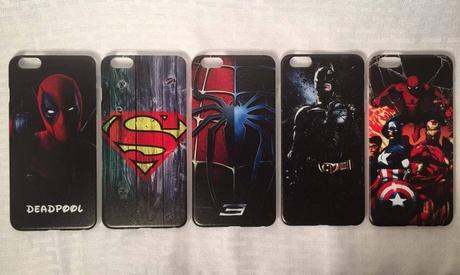 iPhone 6s & Plus case Deadpool, Spiderman, Batman, Superman, Avengers df06a8ad-c446-4cec-a90b-bc7070a26206