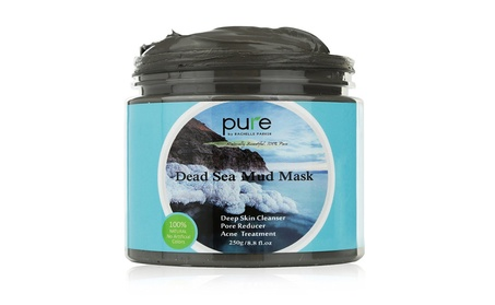 PURE Dead Sea Mud Mask for Face, Body/Hair, 100% Natural and Organic f3a88361-99b6-490c-8546-02050a668ebd