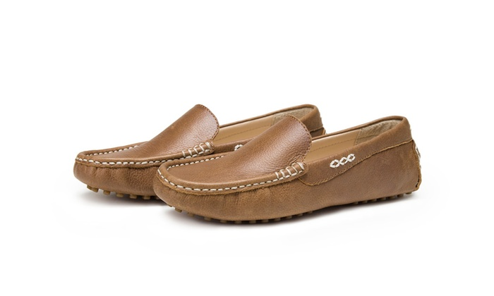 d5cdf331e5c Omine Women s Driving Shoes Slip-on Loafer Moccasin Shoes