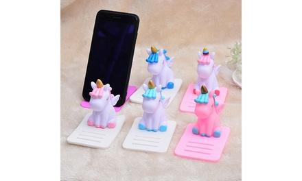 Cute Unicorn Phone Stand Anti slip Car Table Phone Tablet Holder Bracket