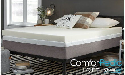 "ComforPedic Loft from Beatyrest - 4"" Memory Foam Mattress Topper"