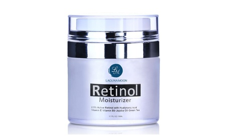 Retinol Moisturizer Cream for Face and Eye with 2.5% Retinol