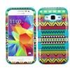 Insten Tribal Sun Hybrid Hard Case For Samsung Galaxy Core Prime Green