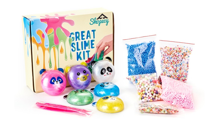 Up To 53% Off on New Ultimate Slime Making Kit    | Groupon Goods