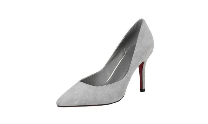 Women's Slip on Stiletto Heel High Heels