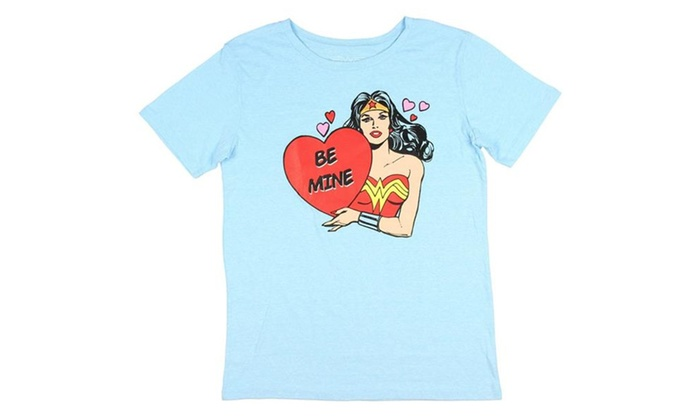 20686a9b3 Wonder Woman DC Comics Women's T-Shirt Superhero Justice League | Groupon