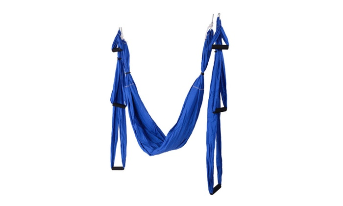 anti gravity aerial yoga hammock up to 71  off on anti gravity aerial yoga hamm      groupon goods  rh   groupon