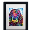 Dean Russo 'Cocker Spaniel II' Matted Framed Art