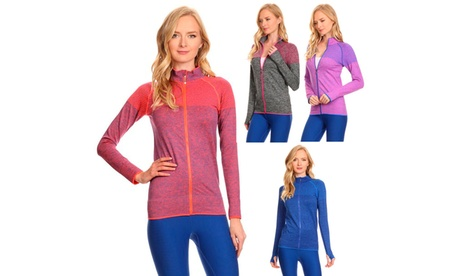 Ultra Light Weight Seamless Active Living Running Jacket 2fdb4f41-1406-452c-902e-bb27b180153c