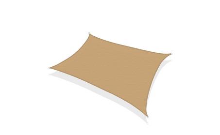 Sun Shade Sail Outdoor Patio UV Block Fabric Rectangle Cover acfe9477-b67f-4bc7-900b-735c8a7f4684