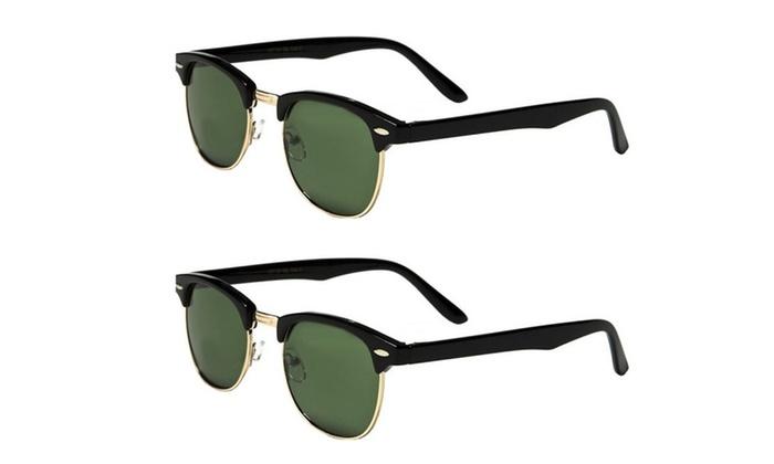Set of 2 Pairs - Classic Sunglasses