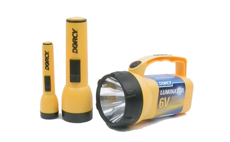 Dorcy International 6 Volt 2D and AA Cell Luminator Flashlight 7607530e-869e-4304-9388-a0d14e3b2269