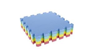 Stalwart Interlocking EVA Foam Padding Floor Tiles Set (8-Pack)