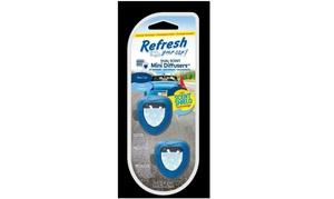 Refresh Your Car! E300877700 Mini Diffusers Car Air Freshener, 0.2 Oz