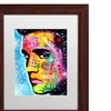 Dean Russo 'Elvis Presley' Matted Wood Framed Art