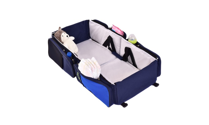 3 In 1 Portable Infant Baby Bassinet Diaper Bag Changing Station Ny