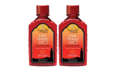 Agadir Argan Oil Hair Shield 450 Hair Treatment 4 fl oz (Pack of 2)