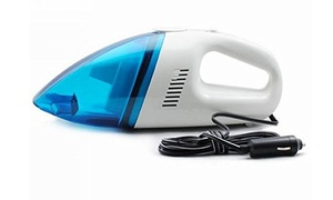 QPower Portable Car Vehicle Auto Handheld 12V Vacuum Cleaner Wet & Dry